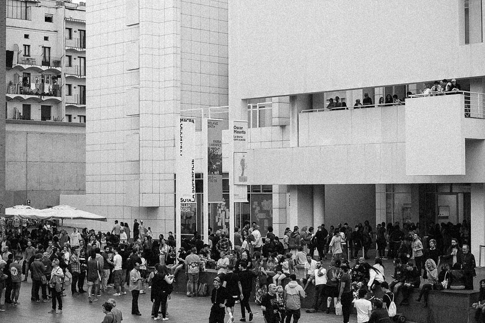 Público MACBA © Miquel Coll